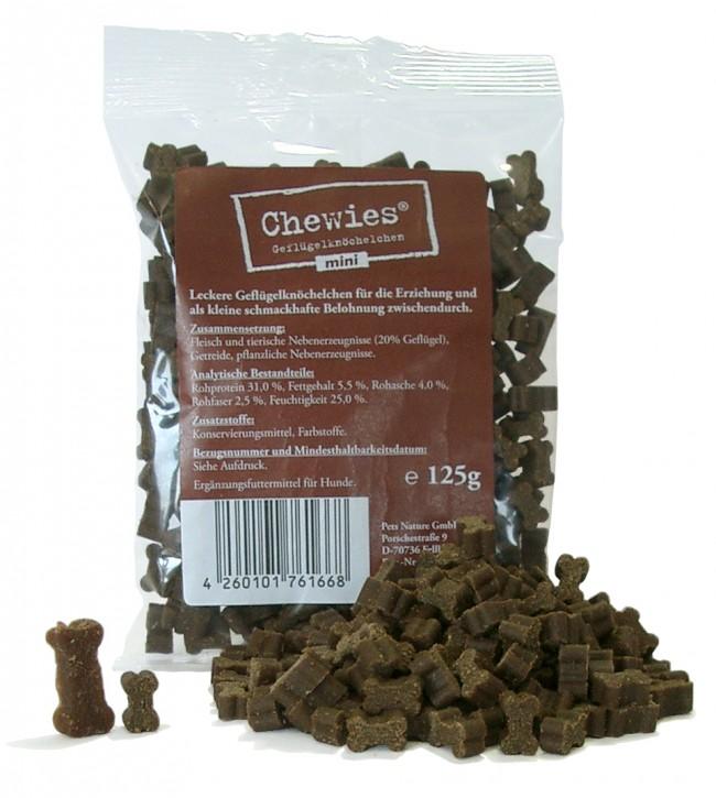 Chewies Training Geflügelknöchelchen Mini 12 x 125 g