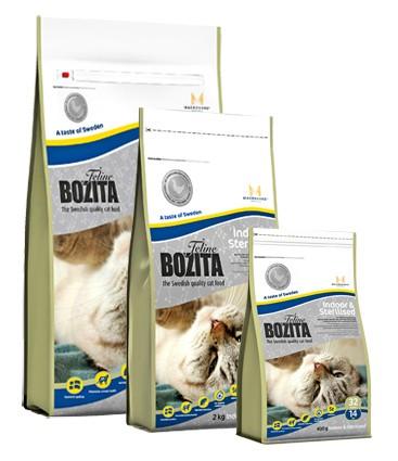 Bozita Feline Indoor & Sterilised 400 g, 2 kg oder 10 kg (SPARTIPP: unsere Staffelpreise)