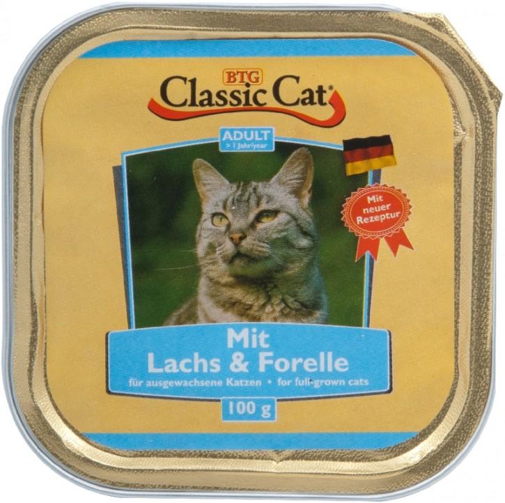 Classic Cat mit Lachs und Forelle 30 x 100 g