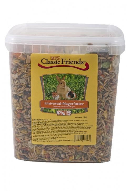 Classic Friends Universal Nagerfutter 3 kg (Eimer)