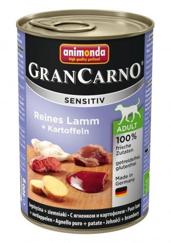 Animonda Dog Gran Carno Sensitiv Adult Reines Lamm plus Kartoffeln 400 g