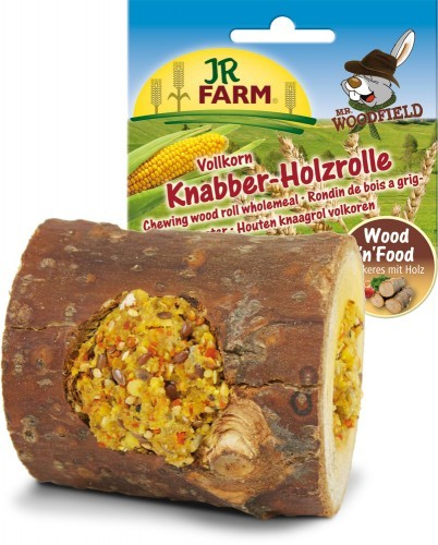 JR Farm Mr. Woodfield Knabber Holzrolle Vollkorn 5 x 150 g