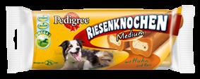 Pedigree Snack Riesenknochen Medium mit Huhn 12 x 2 Stück