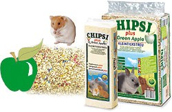 Rettenmaier Nager Chipsi plus Green Apple Hobelspäne 15 L oder 60 L