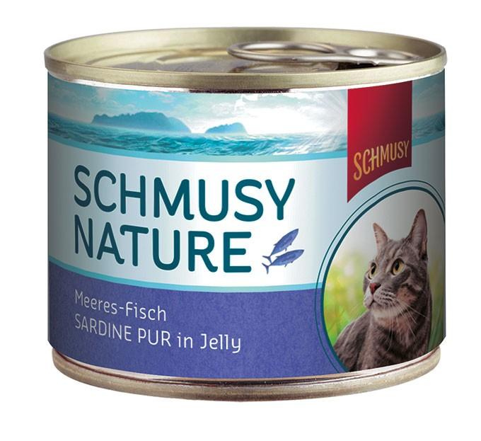 Schmusy Nature Meeresfisch Sardine pur in Jelly 12 x 185 g
