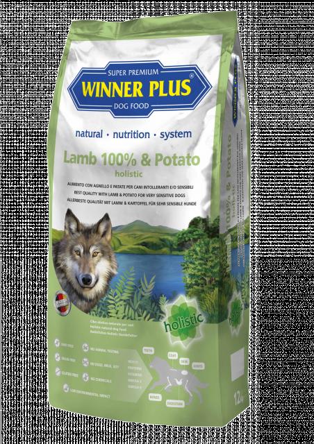 Winner Plus Holistic Lamm und Kartoffel 2 kg oder 12 kg (SPARTIPP: unsere Staffelpreise)