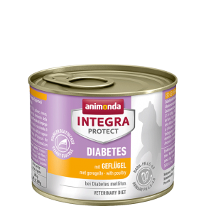 Animonda Cat Integra Protect Diabetes Adult mit Geflügel 12 x 200 g