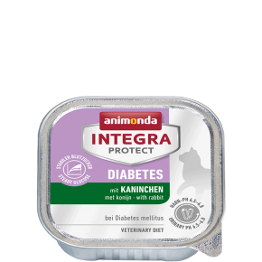 Animonda Cat Integra Protect Diabetes Adult mit Kaninchen 16 x 100 g