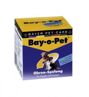Bay-o-Pet Ohren Spülung für Hunde und Katzen 2 × 25 ml