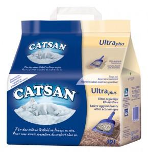 Catsan Ultra Plus Klumpstreu 10 L