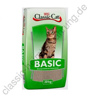 Classic Cat Katzenstreu Basic Bentonit 20 kg