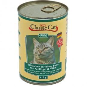 Classic Cat mit Geflügel und Wild 415 g