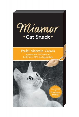 Miamor Cat Snack Multi Vitamin Cream 66 x 15 g