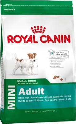 Royal Canin Size Mini Adult 800 g, 2 kg, 4 kg oder 8 kg (Angebotspreis)