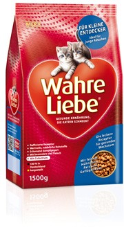 Wahre Liebe Junge Katzen 400 g oder 1,5 kg (Angebotspreis)