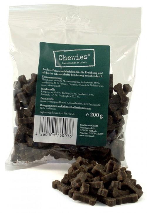 Chewies Training Pansenknöchelchen 200 g