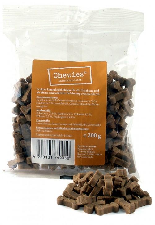 Chewies Training Lammknöchelchen 200 g