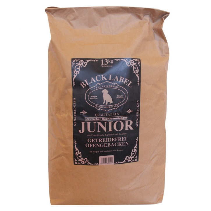 Luckys Black Label Junior 2 x 13 kg (Staffelpreis)