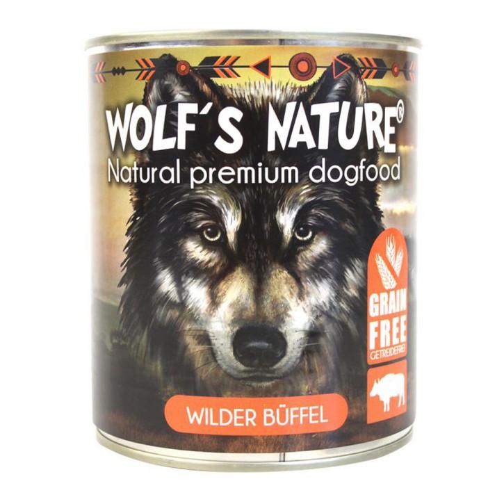 Wolfs Nature Wilder Büffel 800 g