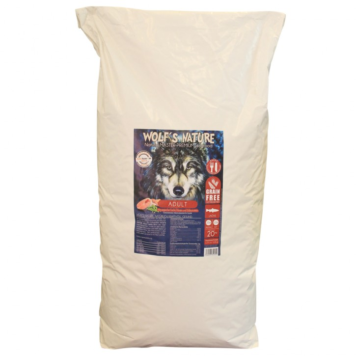 Wolfs Nature Adult Lachs 20 kg