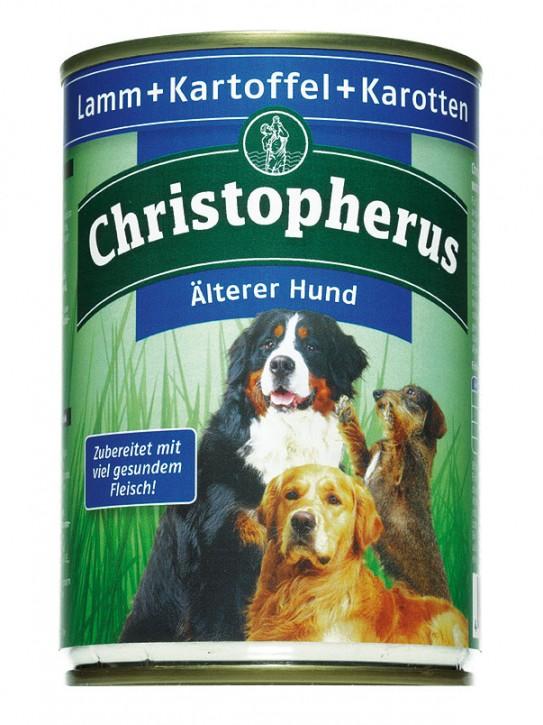 Christopherus Älterer Hund Lamm und Kartoffeln Dose 400 g