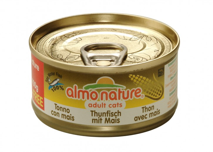 Almo Nature Thunfisch mit Mais 24 x 70 g