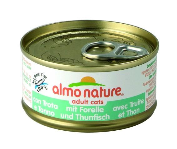 Almo Nature Forelle und Thunfisch 24 x 70 g