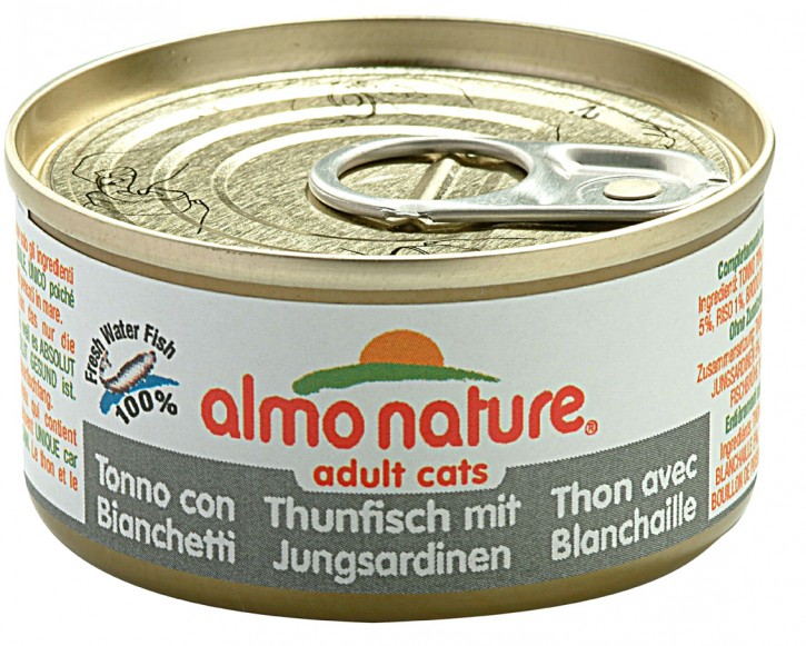 Almo Nature Thunfisch mit Jungsardinen 24 x 70 g