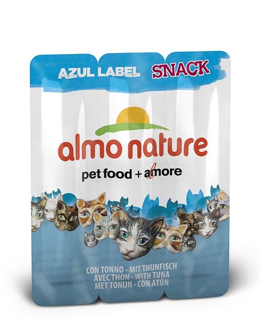 Almo Nature Snack mit Thunfisch Azul Label 60 x 5 g