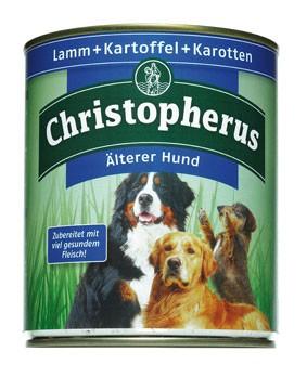 Christopherus Älterer Hund Lamm und Kartoffeln Dose 800 g