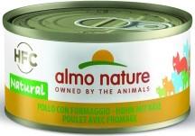 Almo Nature Huhn mit Käse 24 x 70 g