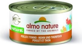 Almo Nature Huhn und Thunfisch 24 x 70 g