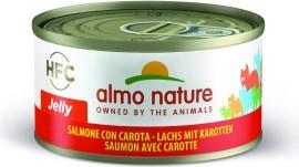 Almo Nature Lachs mit Karotten 24 x 70 g