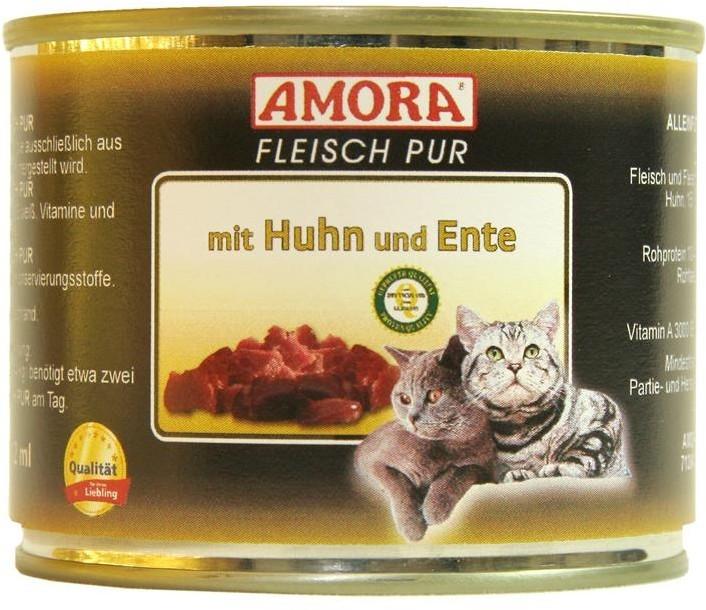 Amora Cat Fleisch Pur Adult mit Huhn & Ente 200 g oder 400 g