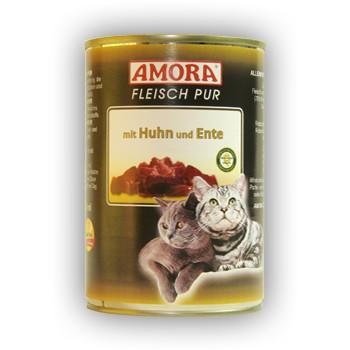 Amora Cat Fleisch pur mit Huhn und Ente 400 g