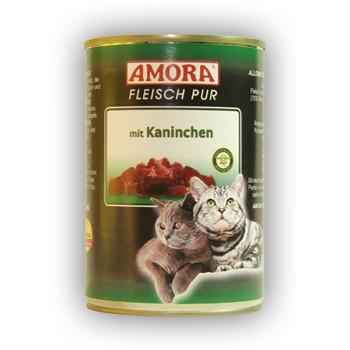 Amora Cat Fleisch pur mit Kaninchen 400 g