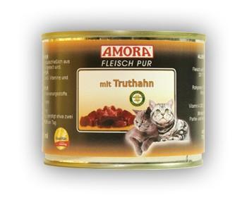 Amora Cat Fleisch pur mit Truthahn 200 g