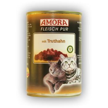 Amora Cat Fleisch pur mit Truthahn 400 g