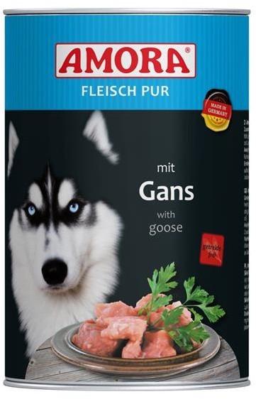 Amora Dog Fleisch Pur Adult mit Gans 400 g oder 800 g