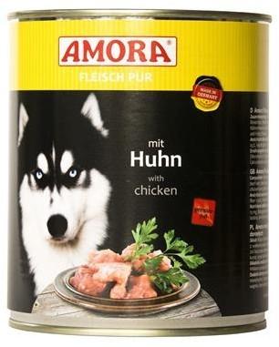 Amora Dog Fleisch Pur Adult mit Huhn 6 x 800 g