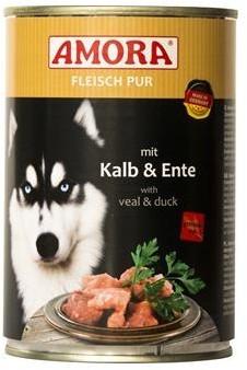 Amora Dog Fleisch Pur Adult mit Kalb & Ente 400 g oder 800 g