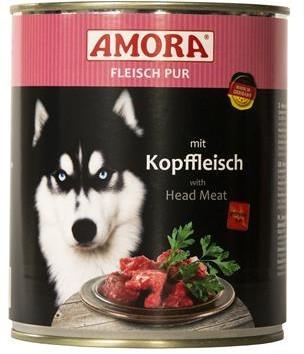 Amora Dog Fleisch Pur Adult mit Kopffleisch 400 g oder 800 g