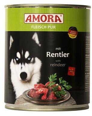 Amora Dog Fleisch Pur Adult mit Rentier 400 g oder 800 g