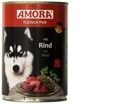 Amora Dog Fleisch Pur Adult mit Rind 400 g oder 800 g