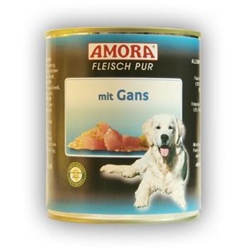 Amora Dog Fleisch Pur mit Gans 800 g