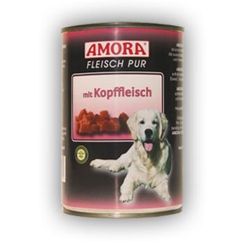 Amora Dog Fleisch Pur mit Kopffleisch 400 g