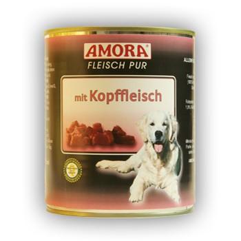 Amora Dog Fleisch Pur mit Kopffleisch 800 g