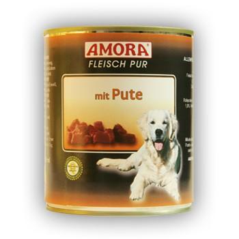 Amora Dog Fleisch Pur mit Pute 800 g