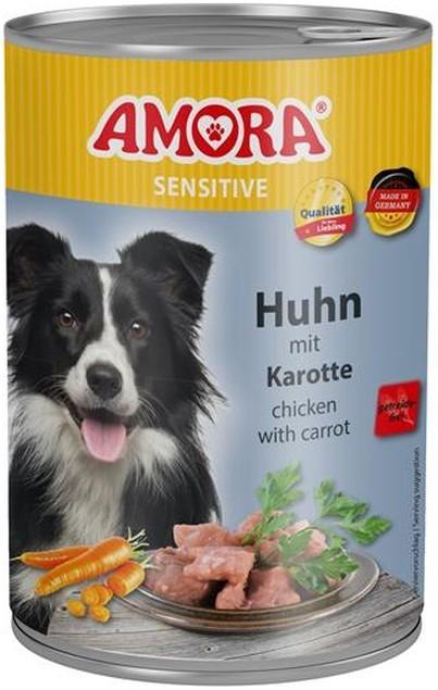 Amora Dog Sensitive Adult Huhn mit Karotte 400 g oder 800 g