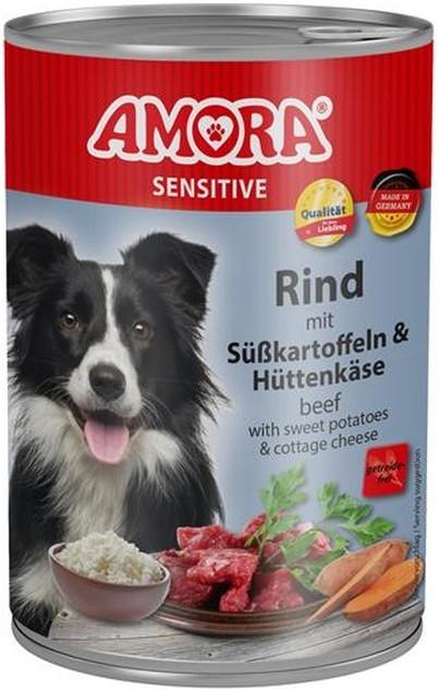 Amora Dog Sensitive Adult Rind mit Süßkartoffeln 400 g oder 800 g